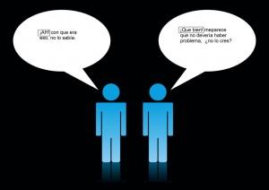 Diálogo con interjecciones