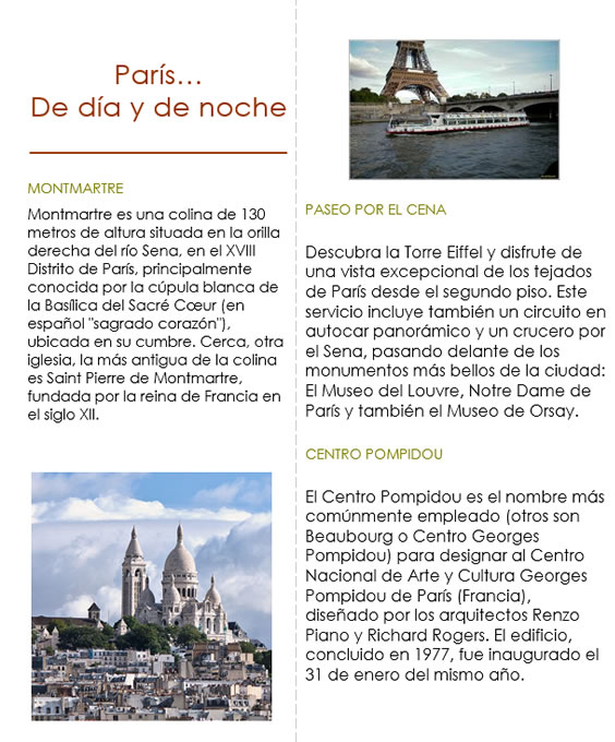Guía turística parte 2