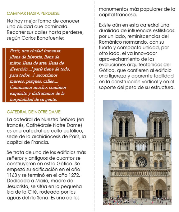 Guía turística parte 4