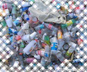 Los productos reciclables pueden tener un uso diferente.