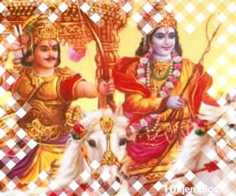 El Mahabarata es una epopeya clásica de la literatura Hindú.