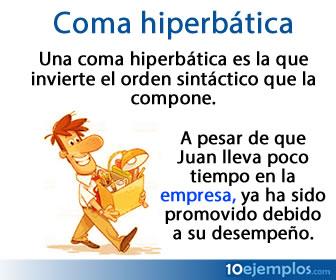 Coma hiperbárica, es la coma que puede cambiar el orden de una oración.