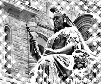 La Reina Victoria, escultura