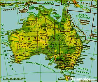 Los países de Oceanía se encuentran en el continente y en las islas aledañas.