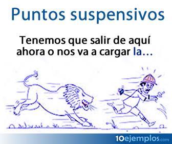 Son signos de puntuación consistentes en tres puntos sucesivos y tienen diferentes usos dentro del español.