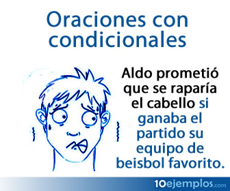 Las oraciones condicionales son subordinadas y se usan para exponer una condición dentro de la oración.