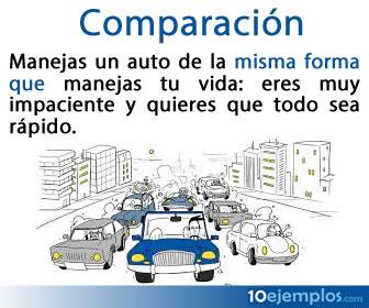 Una comparación es una construcción gramatical en la que se contraponen o relacionan dos o más elementos para establecer sus semejanzas o diferencias.